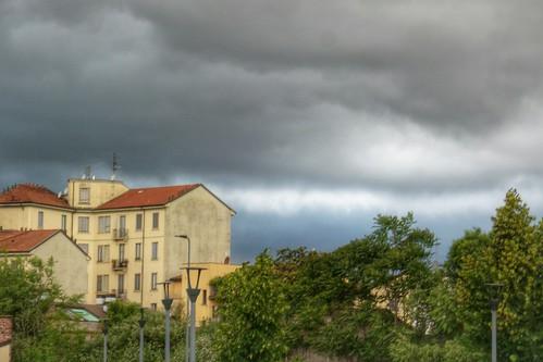 Sotto le nuvole color d'aqua di Maggio