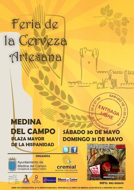 II Feria de la Cerveza y Vinilo de Medina del Campo
