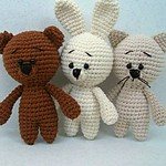 Crochet Animals - Free Amigurumi Head Pattern