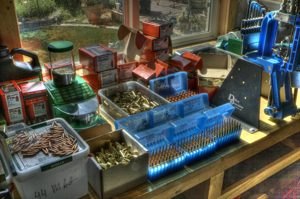 The Reloading Bench Results Of A Few Days Of Hand