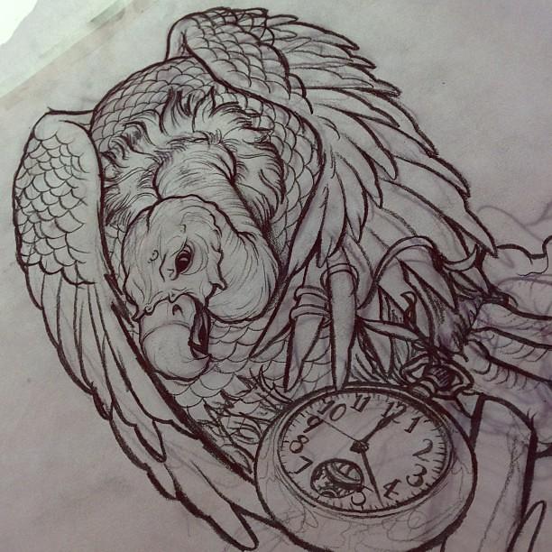 vulture skull drawing. Black Bedroom Furniture Sets. Home Design Ideas