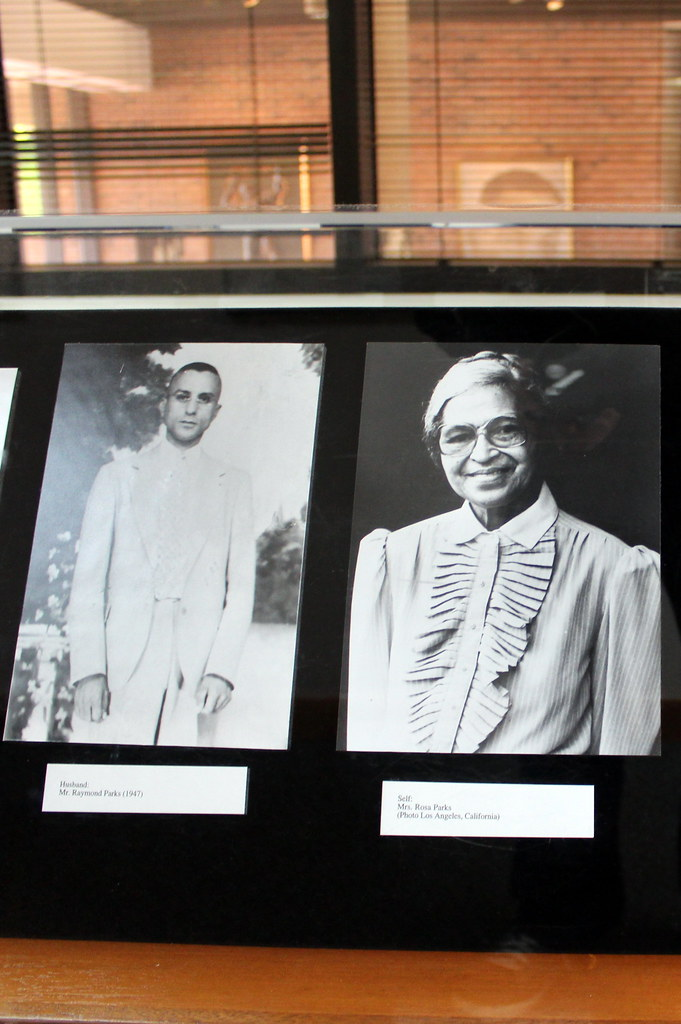 Atlanta mlk historic site king center rosa parks room flickr - Centre commercial rosa parks ...