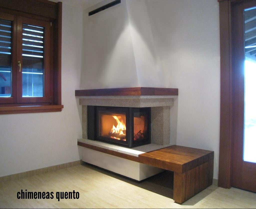Chimenea quento mod xanza angular - Chimeneas quento ...