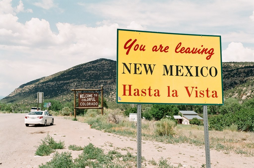 161 Hasta La Vista New Mexico Colorado Border Chad And