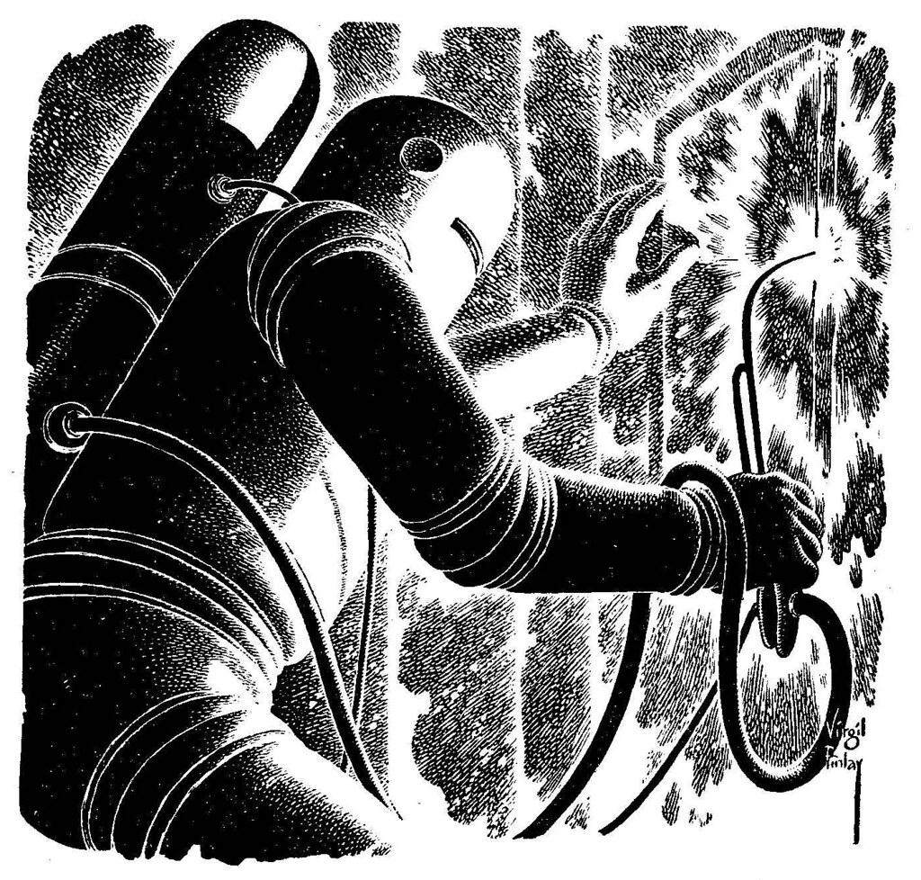 Vintage Sci Fi Illustrations Retro Science Fiction: Fantastic Mid-Century Science Fiction Pulp Illustrations