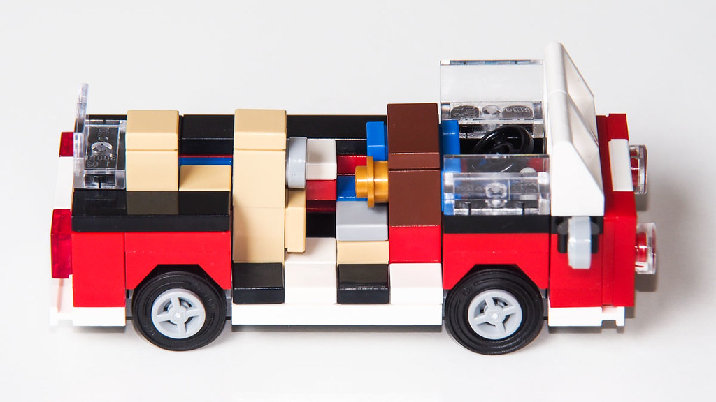 mini vw t1 camper van this is just a rebuild of lego set. Black Bedroom Furniture Sets. Home Design Ideas