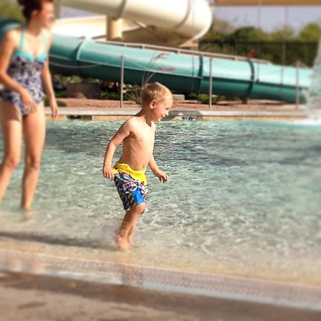 #pool #freezing