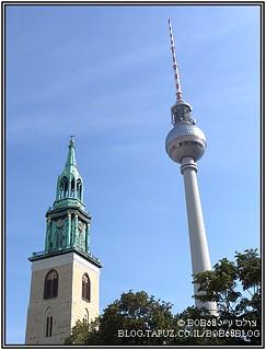 ברלין - Alexanderplatz - מגדל הטלוויזיה
