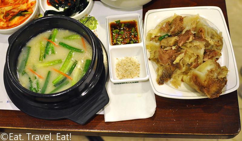 Jook Hyang- Los Angeles (Koreatown), CA: Beef Soup