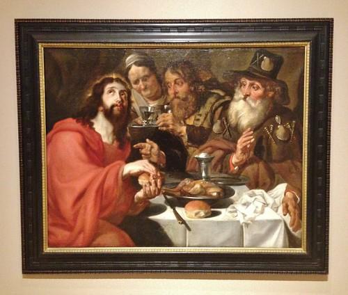 The Supper At Emmaus by ArtFan70, via I {heart} Rhody