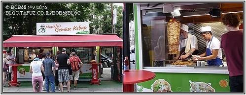 רשת Mustafa's Gemüs kebab היא דוגמה נהדרת ל-אוכל כל הדרך.