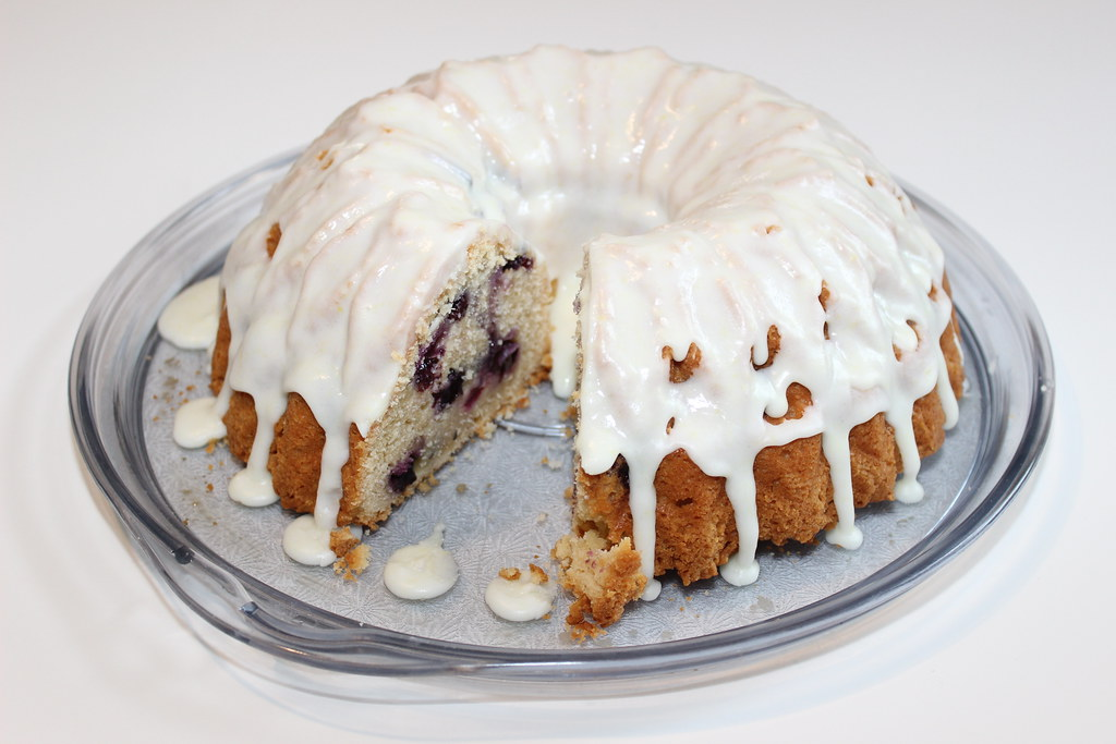 Blueberry Buttermilk Bundt Cake Recipe