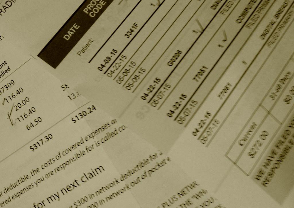 Healthcare staffing medical bill