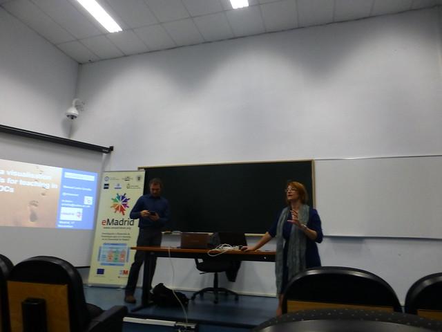 """Conferencia eMadrid sobre """"El uso de herramientas telemáticas en la facilitación de MOOC: primeras impresiones"""" (17-11-2016)"""