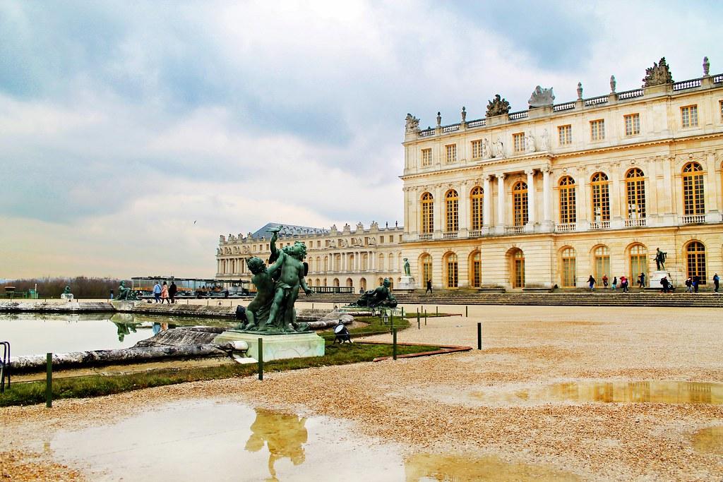 Drawing Dreaming -  guia de sobrevivência de Versailles - Jardins