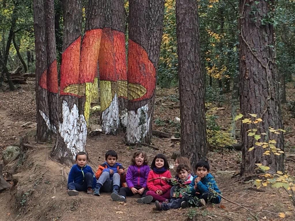 16-17 Bosc pintat Poblet