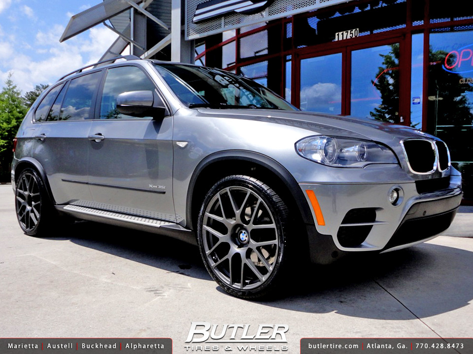 Bmw X5 With 22in Tsw Nurburgring Wheels Additional