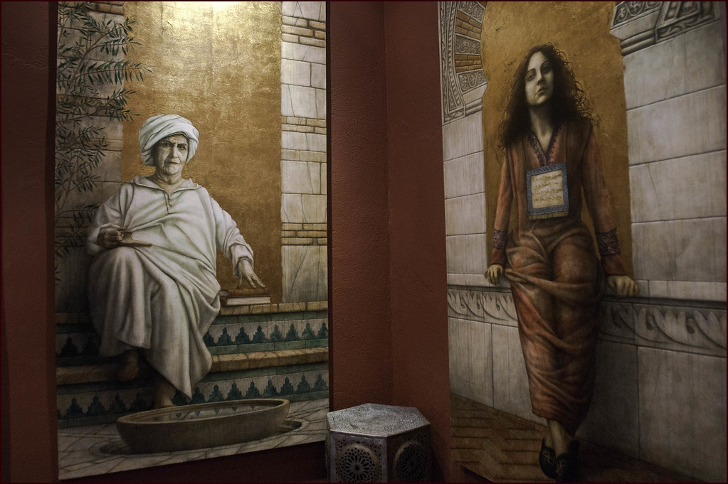 Women of al andalus these wall murals of famous women of for Alabama wall mural