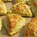 Savory Chive and Sharp Cheddar Cheese Scones