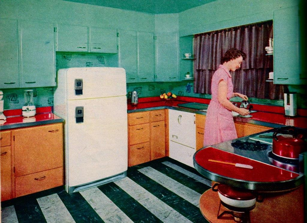1950s Kitchen 113 best modest mid century images on pinterest | midcentury