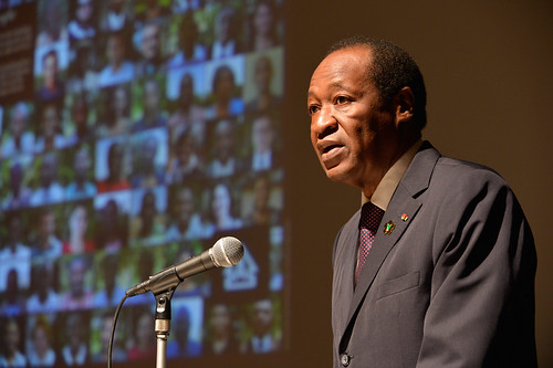 Burkinabe President Blaise Compaore | by UNDP's Africa Adaptation Programme