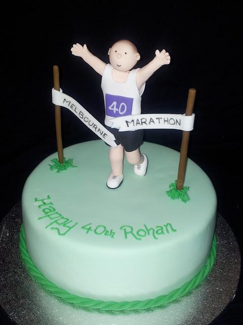 Cake Decorating Ideas Runners : Marathon Runner Cake Flickr - Photo Sharing!
