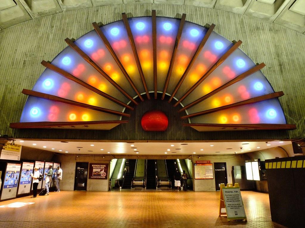 gallery place chinatown metro station  washington dc