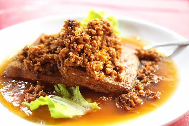 Homemade tofu, Keng Eng Kee Seafood, 124 Bukit Merah Lane 1, Singapore