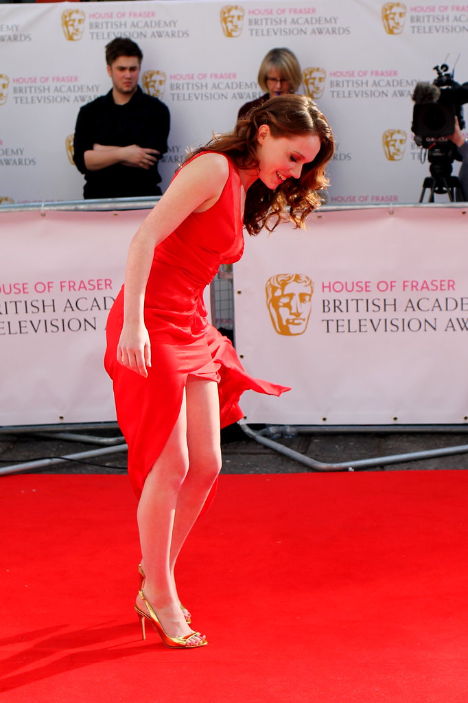 BAFTA Red Carpet 2015 (16)