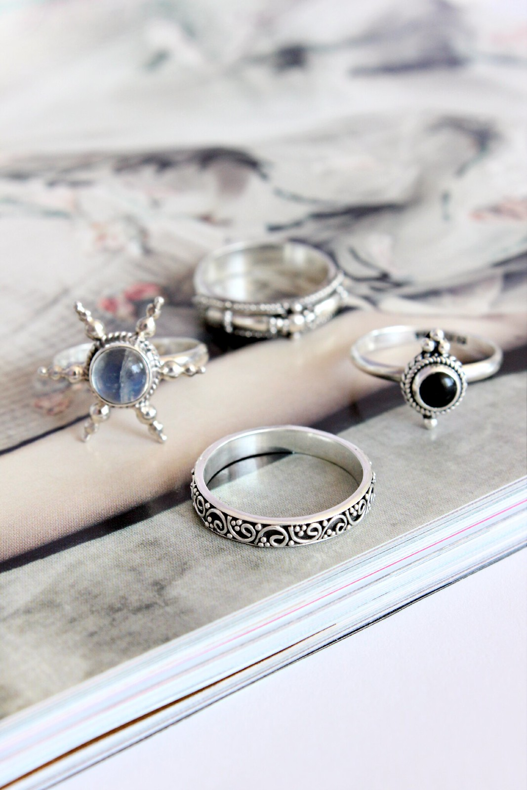 Dixi Sterling Silver Rings