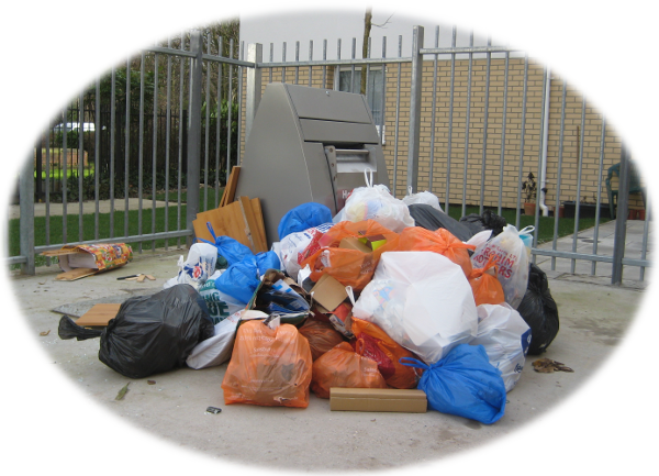 British Street Rubbish