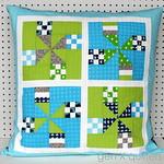 Moccasin BOM Block #1 Pillow