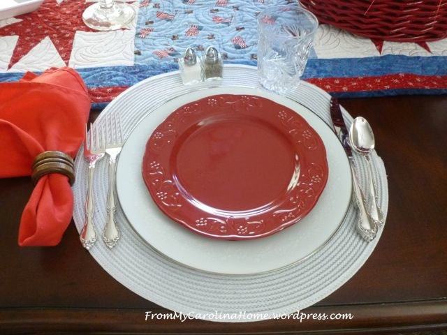 Patriotic Tablescape 2