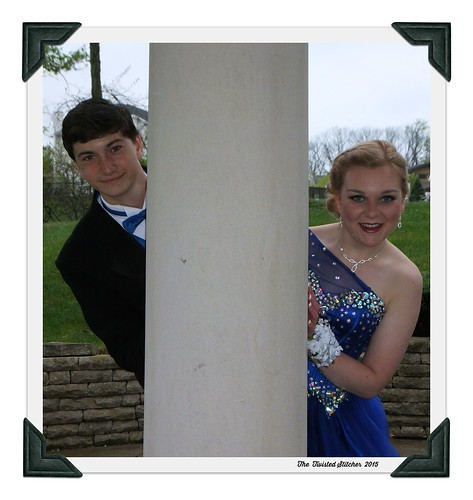 Katie and Kamryn Prom 2015 B