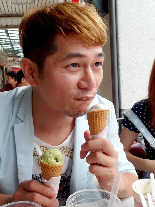 宜蘭。美食-船來芋冰-牛乳大王-雪淇淋-17度C隨拍 (3)