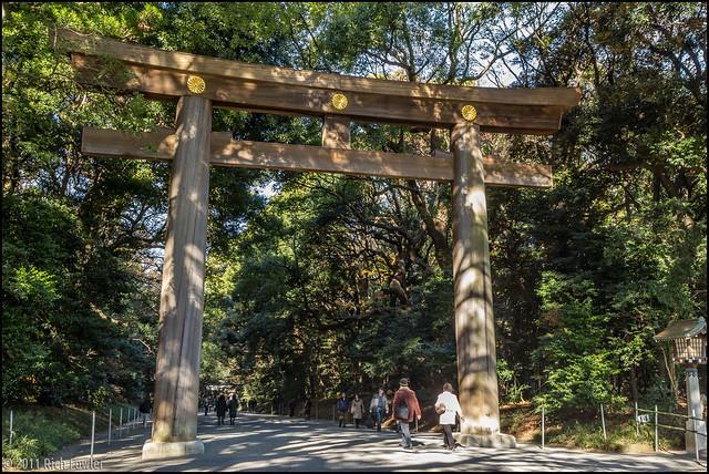 Meiji Jinguu Entrance.
