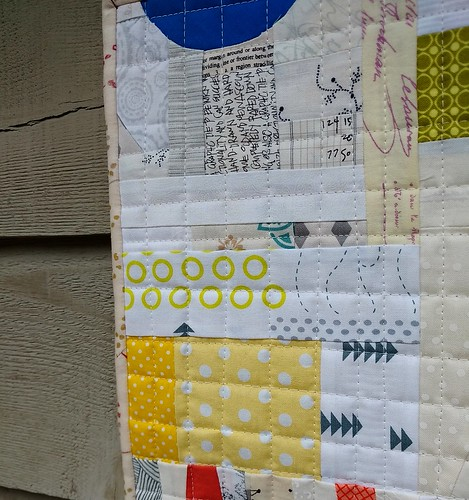 Serendipity - quilting detail
