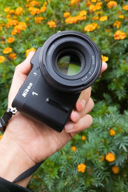 Nikon 1 Nikkor 32mm f/1.2 hands on