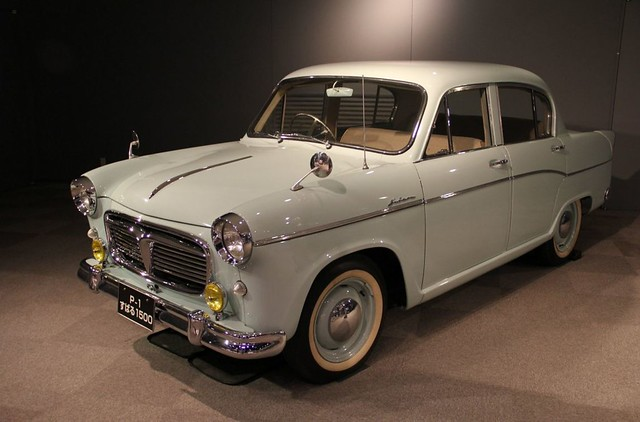 The very french-like Subaru P1 1500. Subaru's first car, and quite different to all their following vehicles.