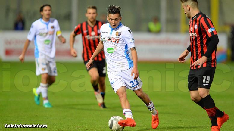 Andrea Di Grazia in azione allo