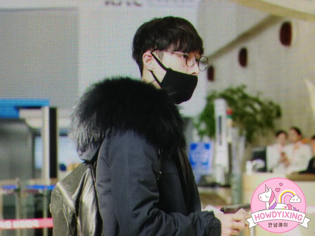 161120 Lay at Gimpo and Shanghai Airport