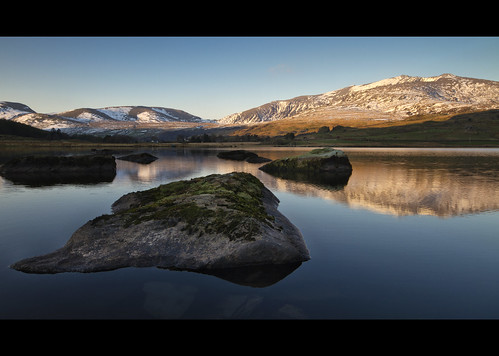 Snowdon from Llyn Y Gader | by Adam BStar