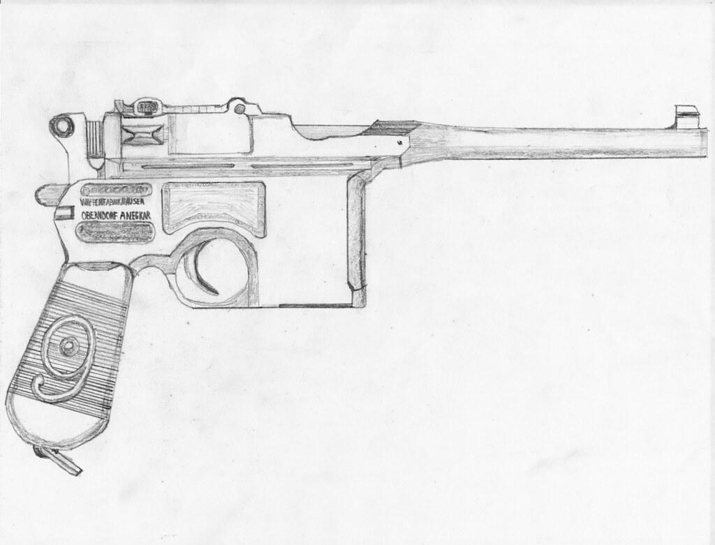 Gun Drawings In Pencil | www.imgkid.com - The Image Kid ...