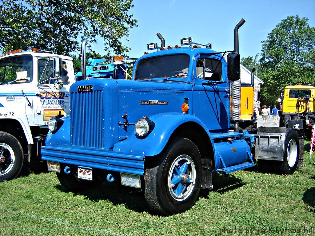 White Super Mustang | Antique Truck Club of America Truck ...