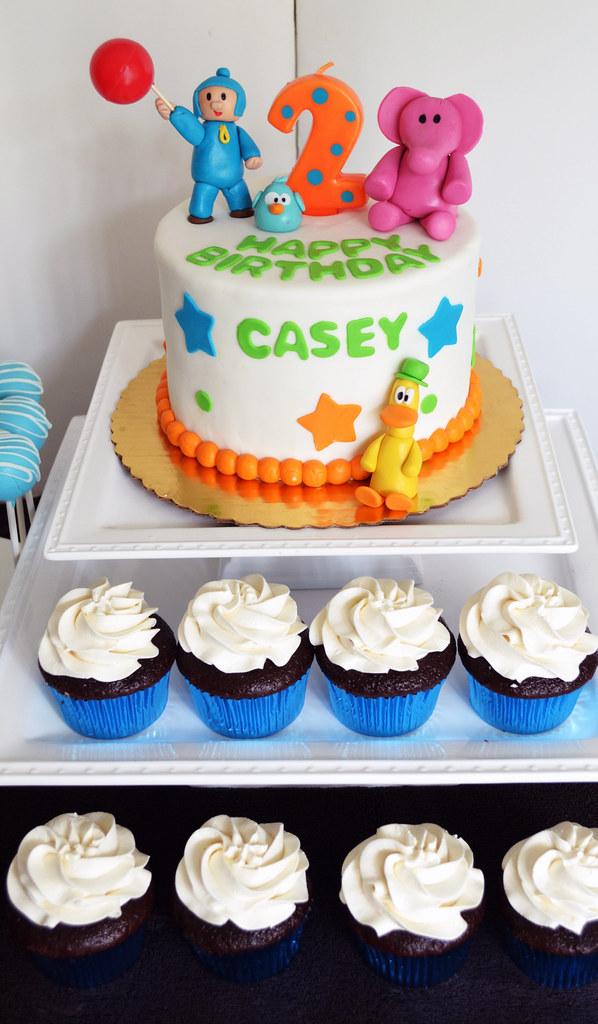 Pocoyo Cake Pops