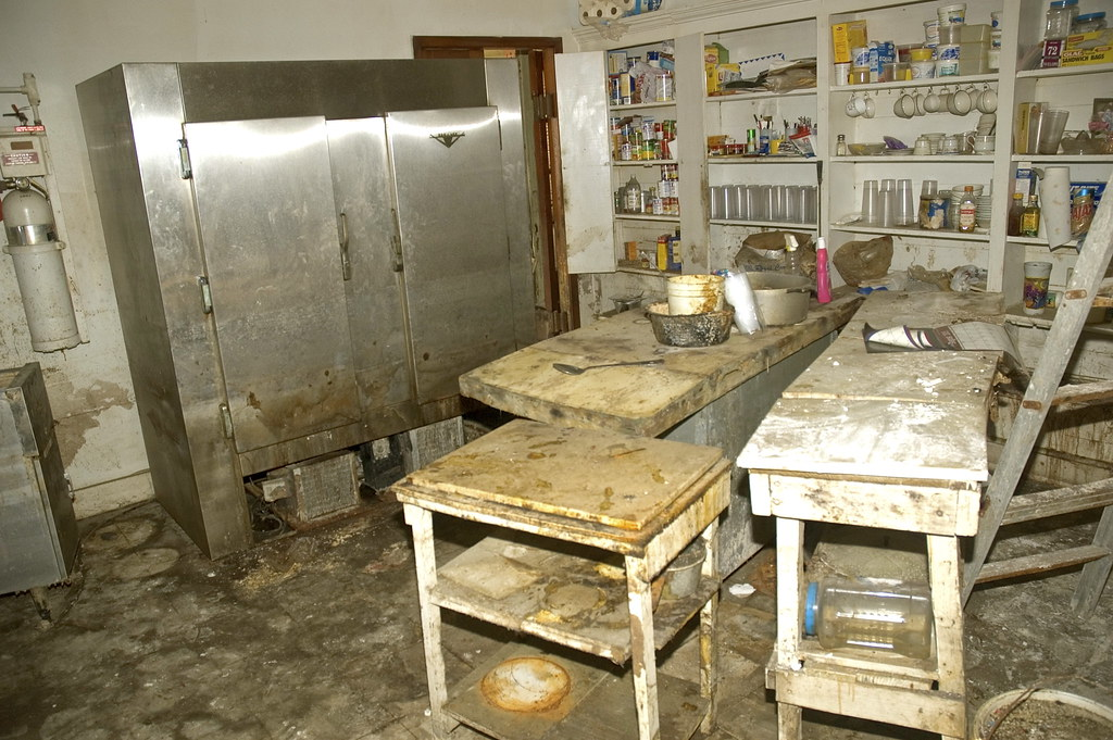 Willie Mae's Scotch House kitchen after Hurricane Katrina ...