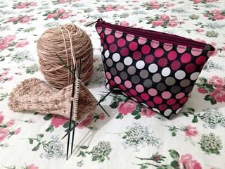 WIP Wednesday - Knitting Case