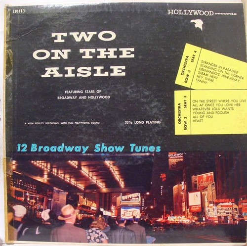 """Herbie Layne & HIs Orchestra """"Two On The Aisle"""" (1956)"""