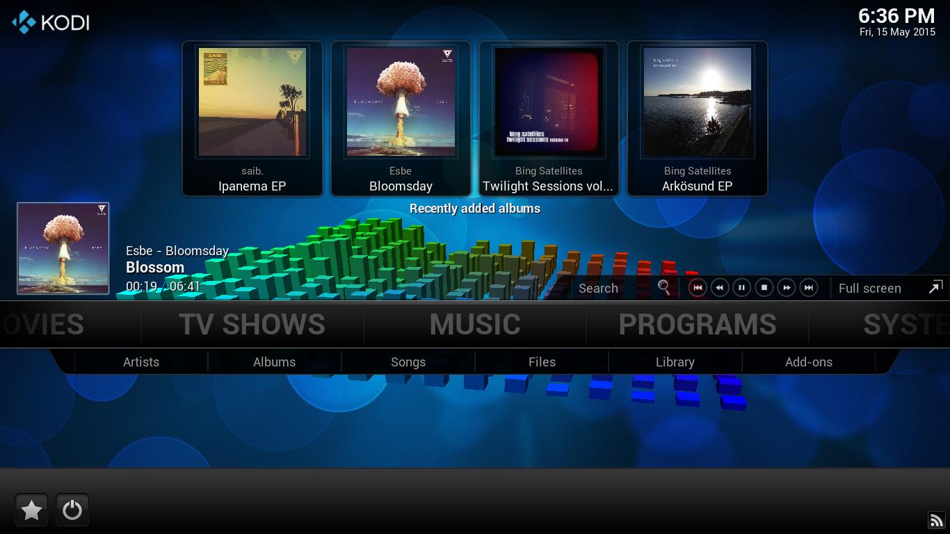 kodi-music