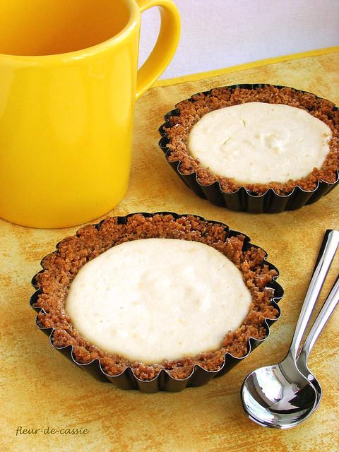 лимонные тарталетки с рикоттой 2